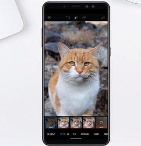 Filtros en PicsArt Android