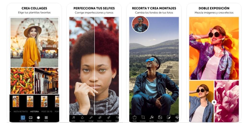 Herramientas de Picsart para Iphone